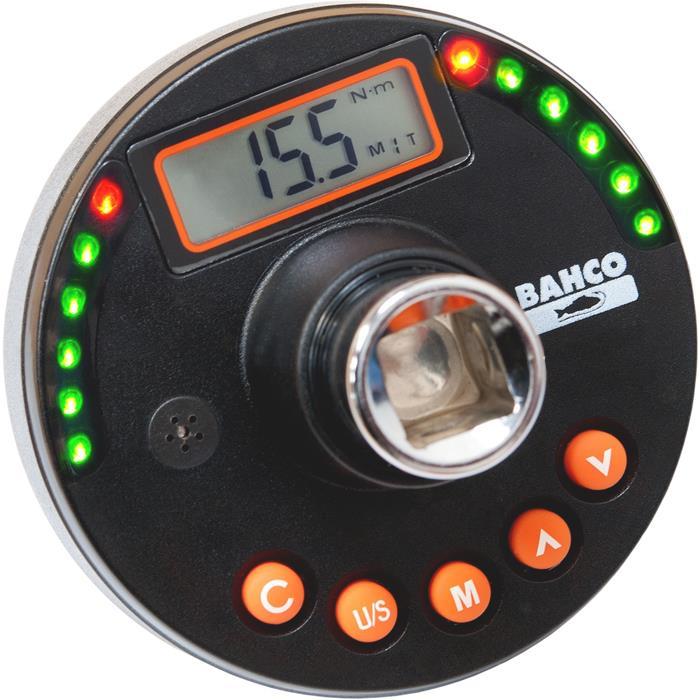 Bahco TAM12135 Moment- och vinkelmätaradapter 68-135 Nm