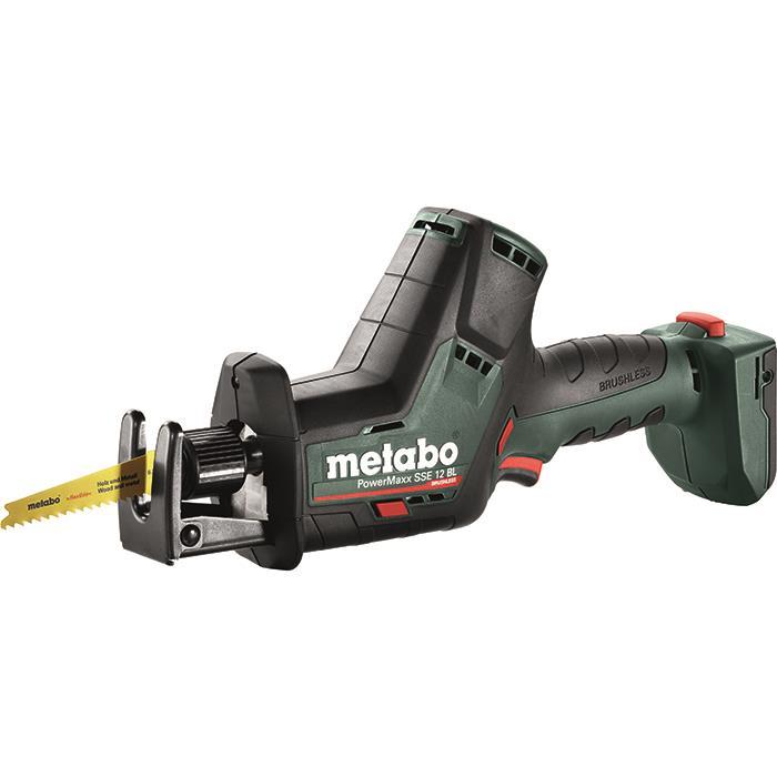 Metabo PowerMaxx SSE 12 BL Tigersåg med 2 st 20 Ah batterier