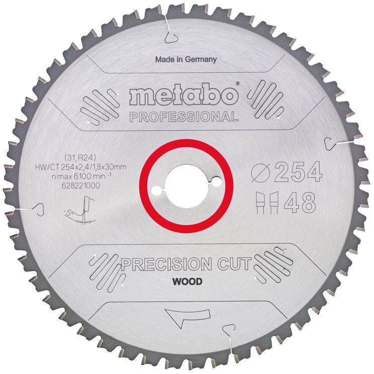 Metabo 628057000 Sågklinga 315×30 mm 48T