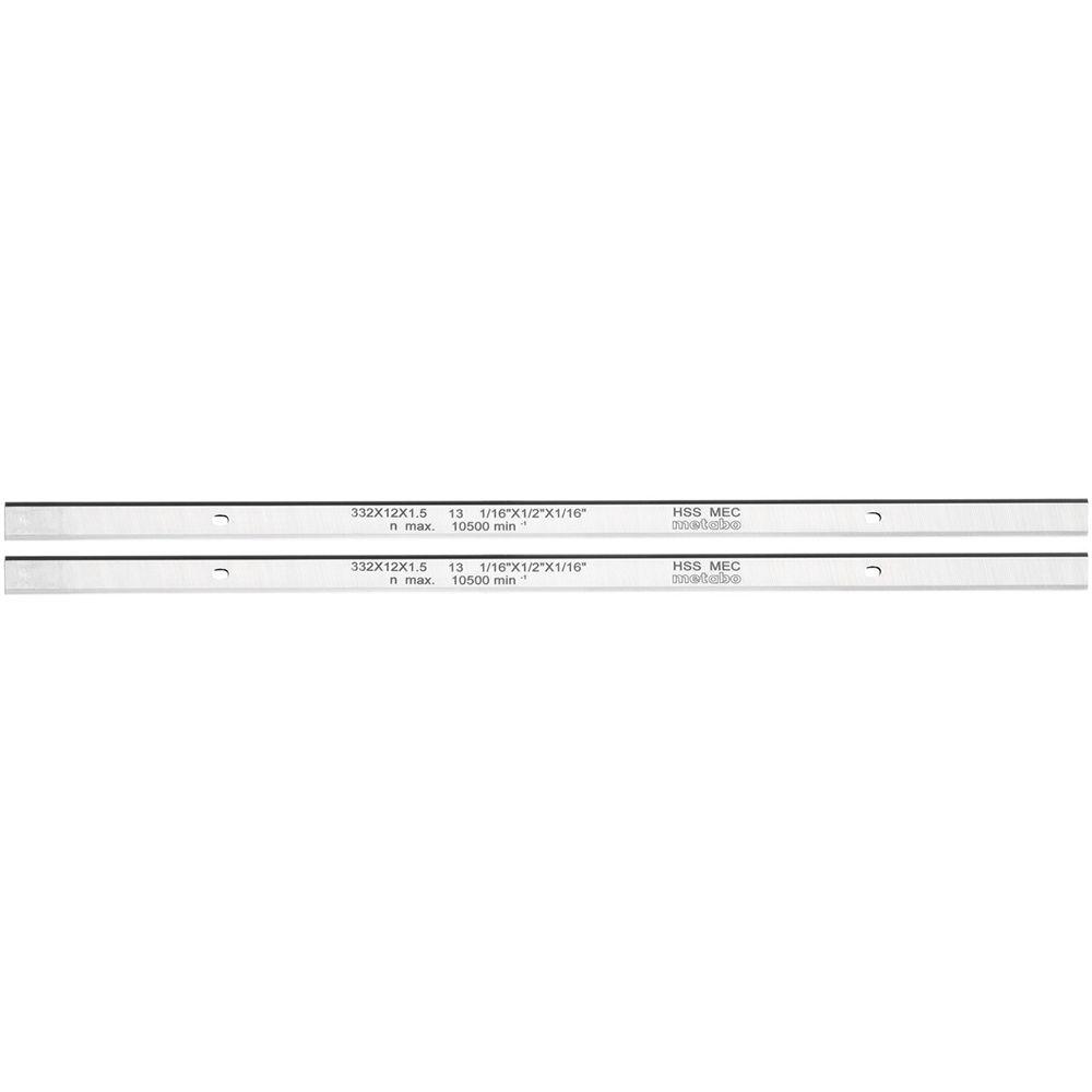 Metabo 0911063549 Hyvelstål HSS 2 st