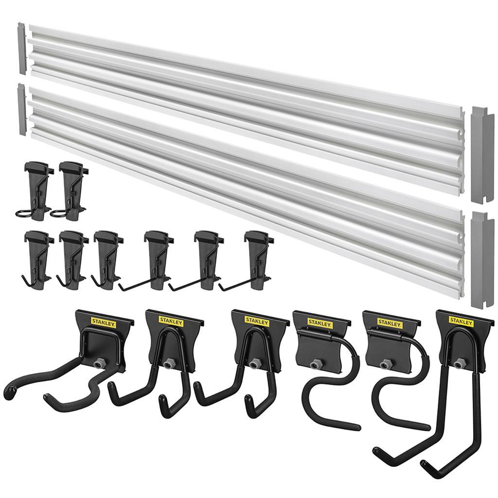 STANLEY Track Wall System Kit Verktygstavla