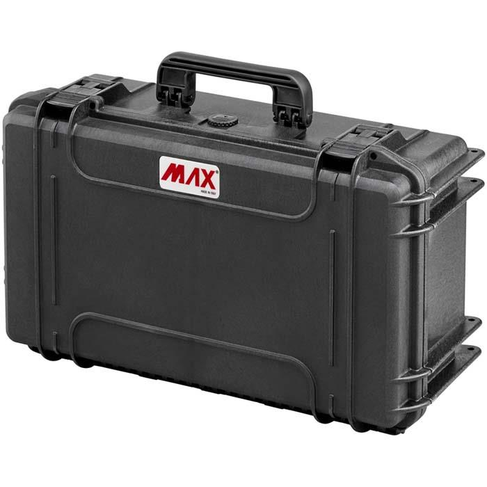 MAX cases MAX520CAM Förvaringsväska vattentät 306 liter med vadderad avdelare