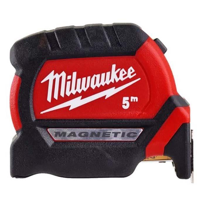 Milwaukee GEN III Måttband med magnet 8 m