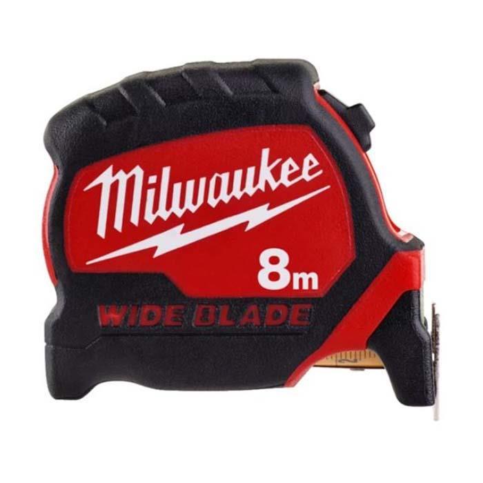 Milwaukee Premium Wide Blade Måttband 33 mm bladbredd 8 m/26 ft