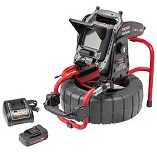 Ridgid Compact C40 Kamerasystem med CS6x VERSA batteri och laddare