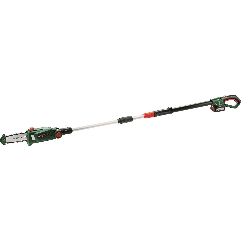 Bosch DIY Universal Chain Pole 18 Grensåg med 25Ah batteri och laddare