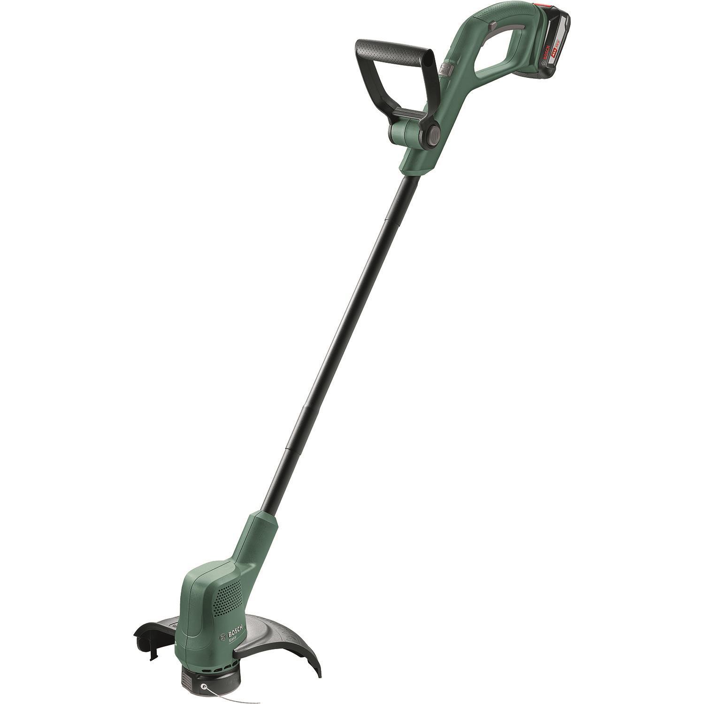 Bosch DIY Easy Grasscut 18-260 Grästrimmer med 2 st 20Ah batterier och laddare