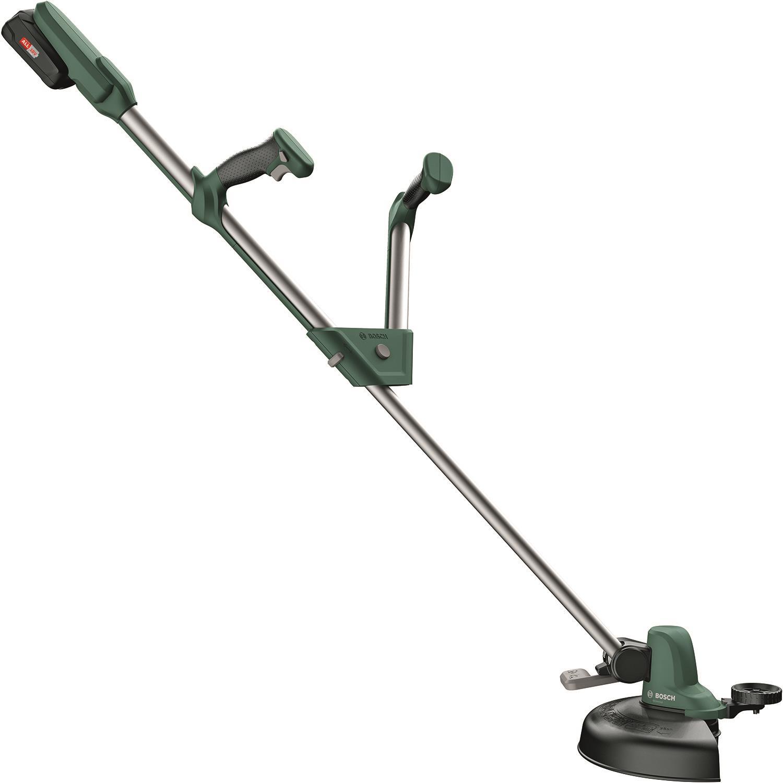 Bosch DIY Universal Grasscut 18-260 Grästrimmer med 2 st 20Ah batterier och laddare