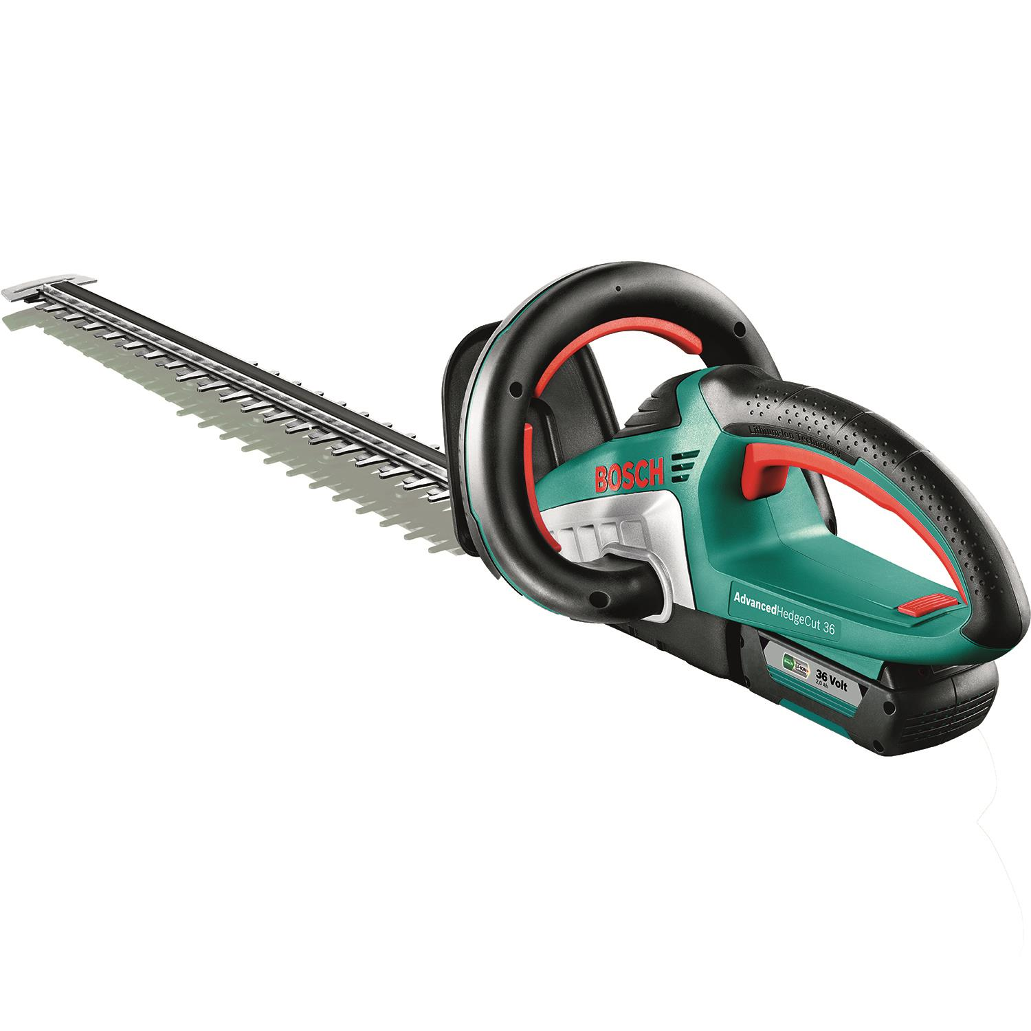 Bosch DIY Advanced Hedgecut 36 Häcksax med 20Ah batteri och laddare
