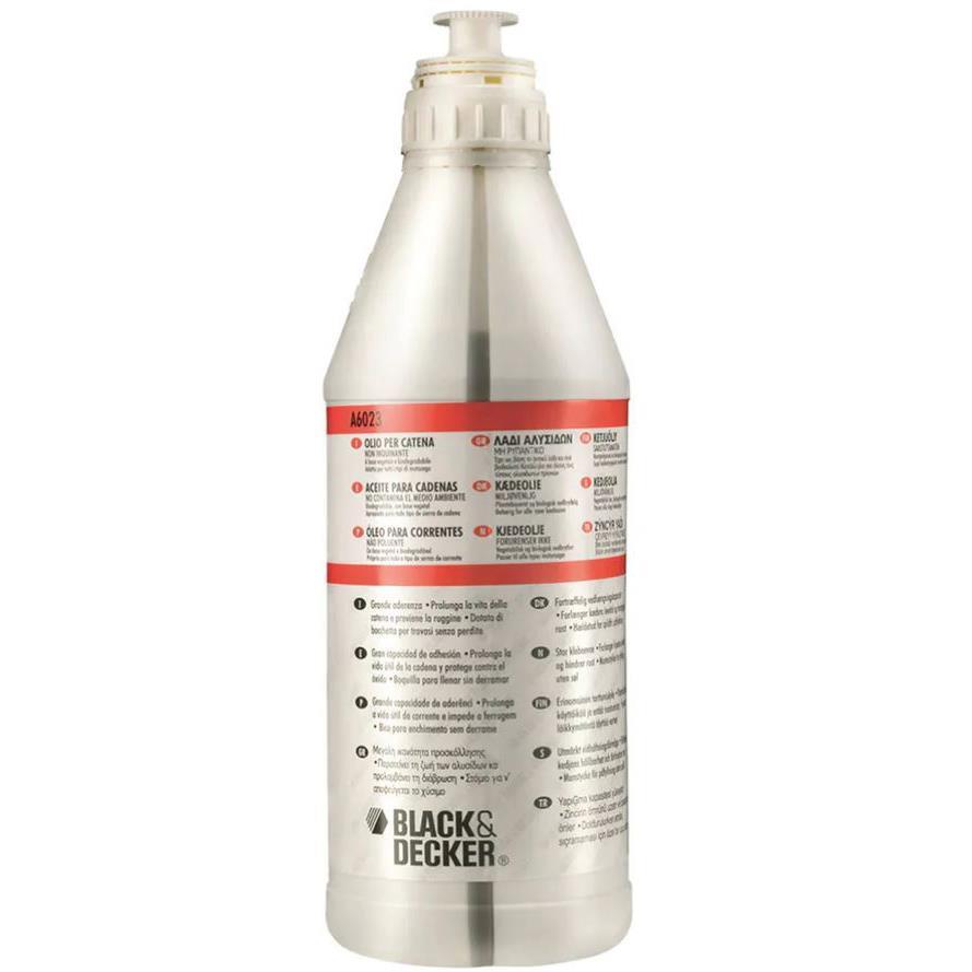 Black & Decker A6023-QZ Kedjesågsolja 1 liter