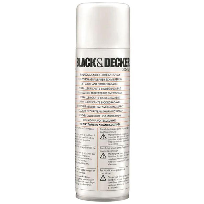 Black & Decker A6102-XJ Häcksaxsolja 300 ml
