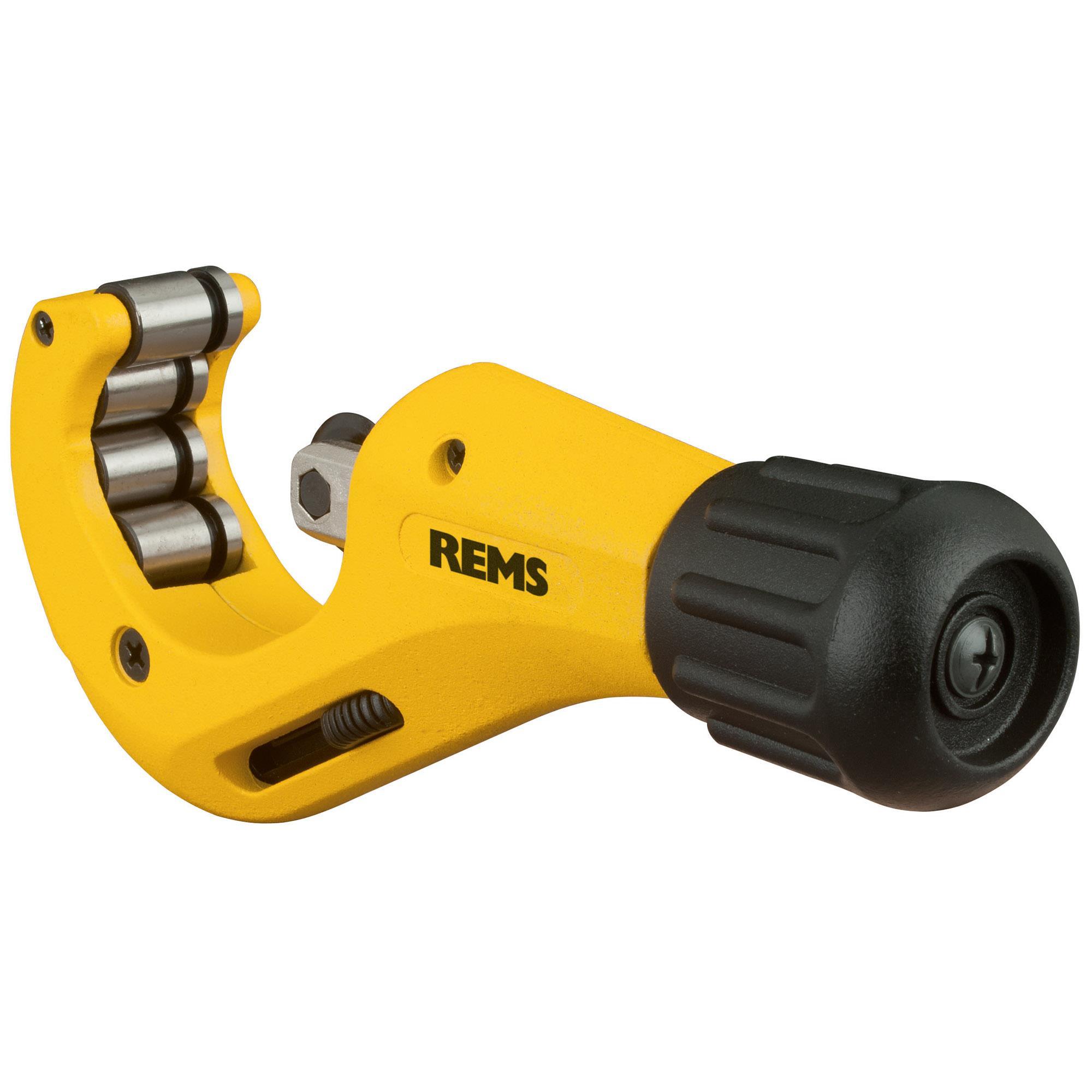 REMS RAS Cu-INOX Röravskärare integrerat rörgradverktyg 3-42 mm