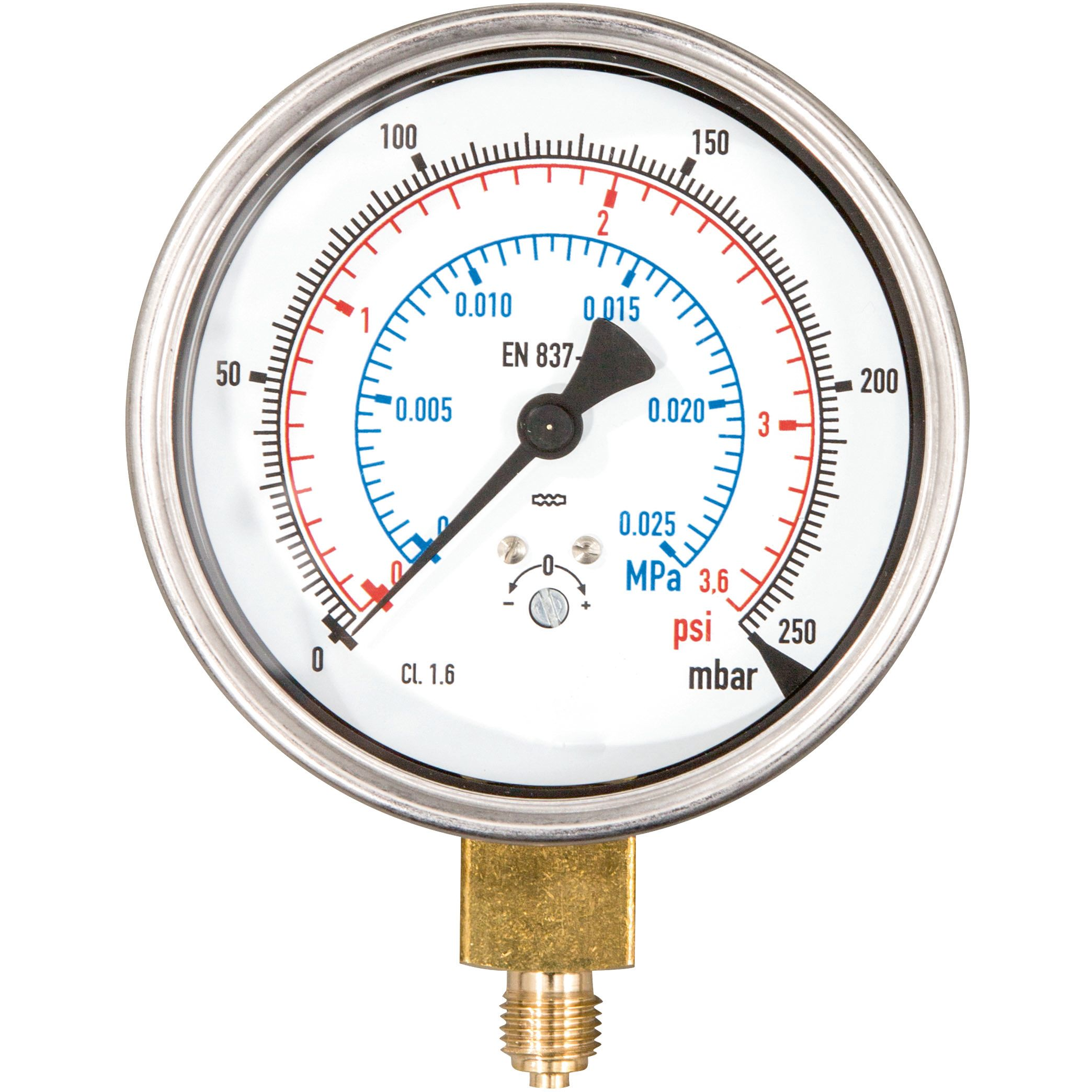 REMS 047069 Manometer för REMS Multi-Push 250 mbar