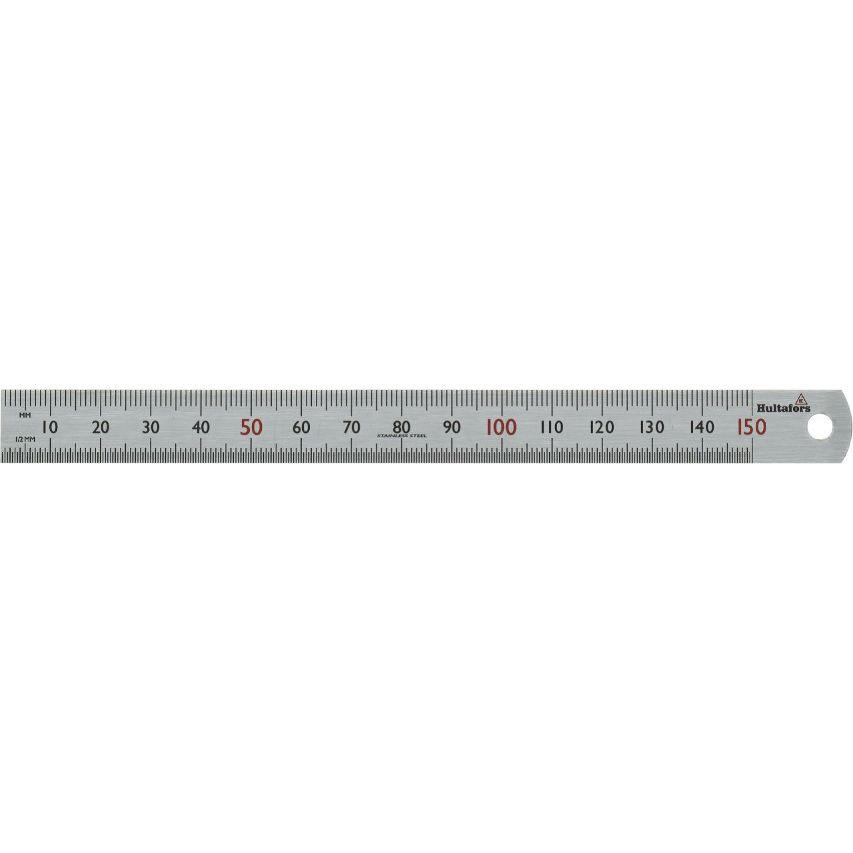 Hultafors STL 300 Stålskala tolerans ±03 mm 300 mm