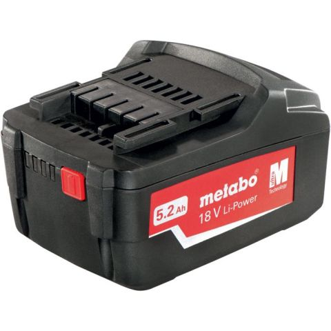 1110020 Metabo 18V Li-Power Li-Ion batteri 5,2Ah