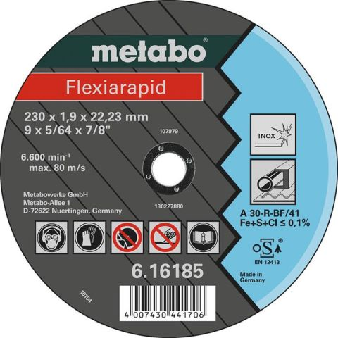 1110121 Metabo 616184000 Kapskiva