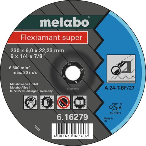1110185 Metabo Flexiamant Super Kapskiva