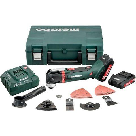 1110218 Metabo MT 18 LTX Compact Multiverktyg med 2,0Ah batterier och laddare