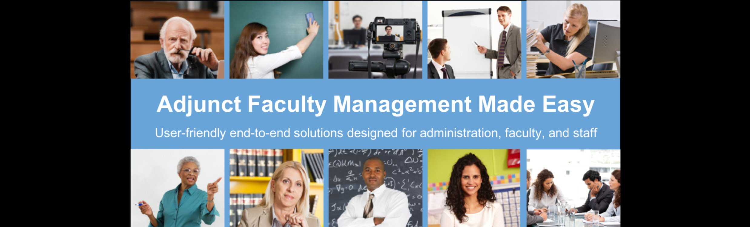Adjunct Faculty Management Made Easy