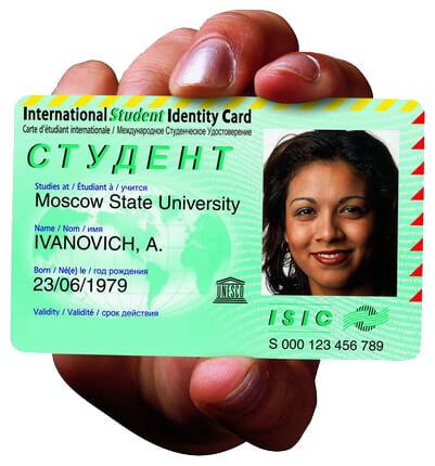 Карточка ISIC