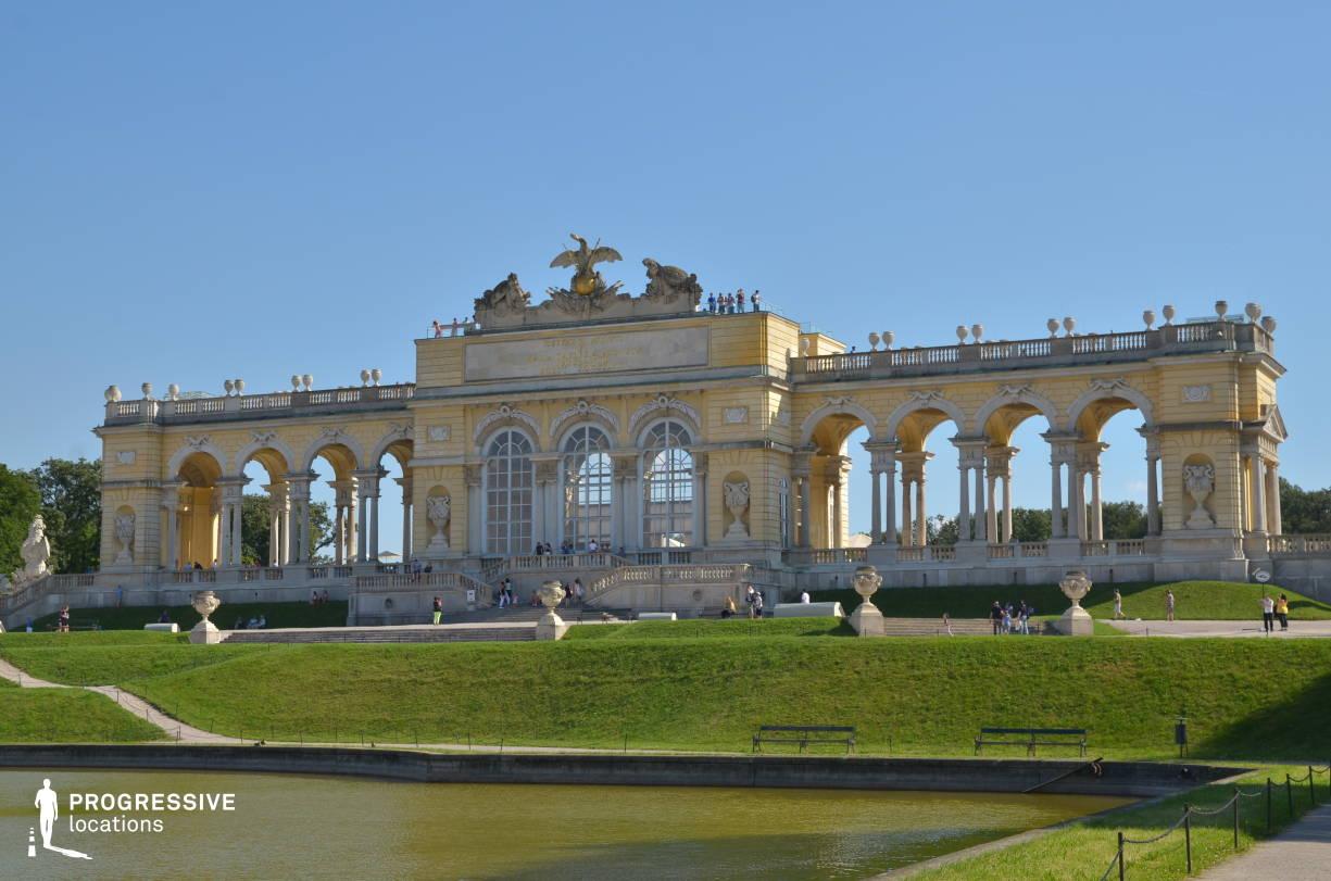 Locations in Austria: Gloriette, Schoenbrun Palace