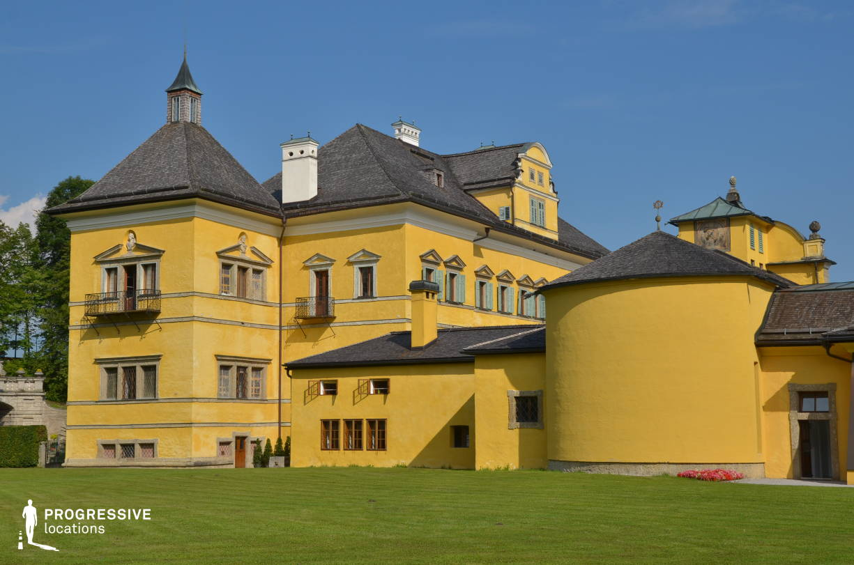 Locations in Austria: Exterior, Hellbrunn Palace