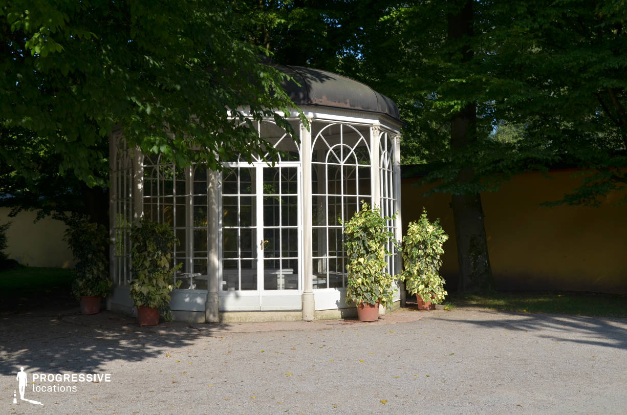 Locations in Austria: Garden %26 Gazebo, Hellrunn Palace