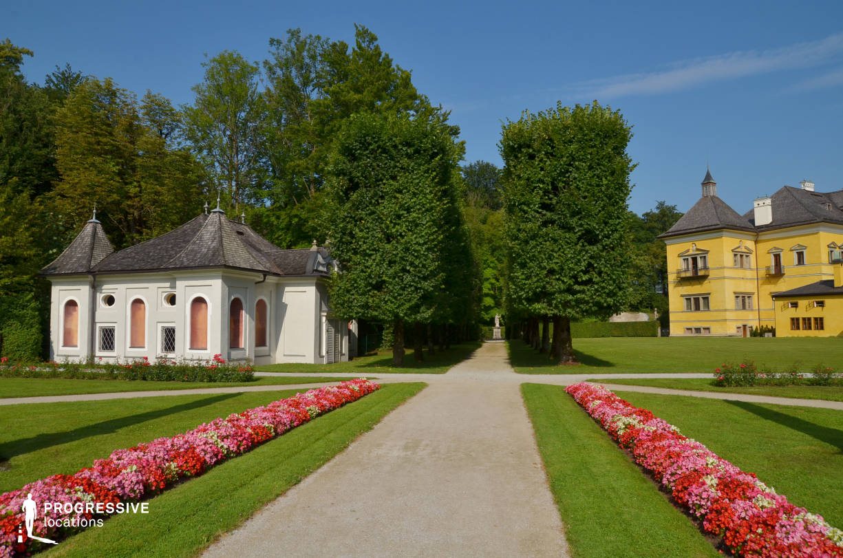 Locations in Austria: Garden, Hellbrunn Palace