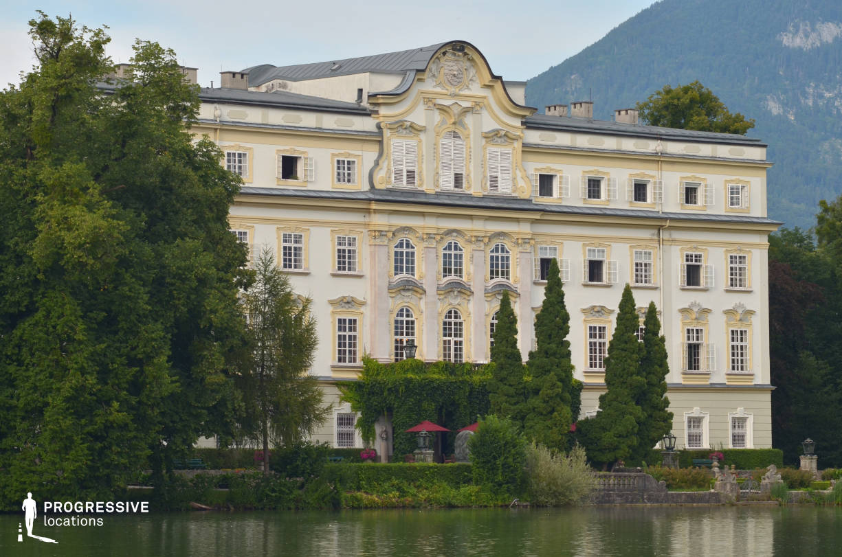 Locations in Austria: Lakeside Facade, Leopoldskron Palace