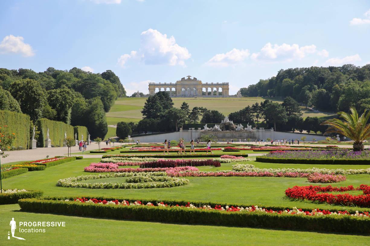 Locations in Austria: Garden %26 Flowers, Schoenbrun Palace