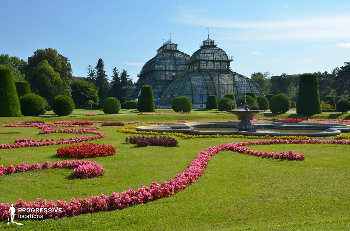 Locations in Austria: Garden %26 Palmhouse, Schoenbrunn Palace