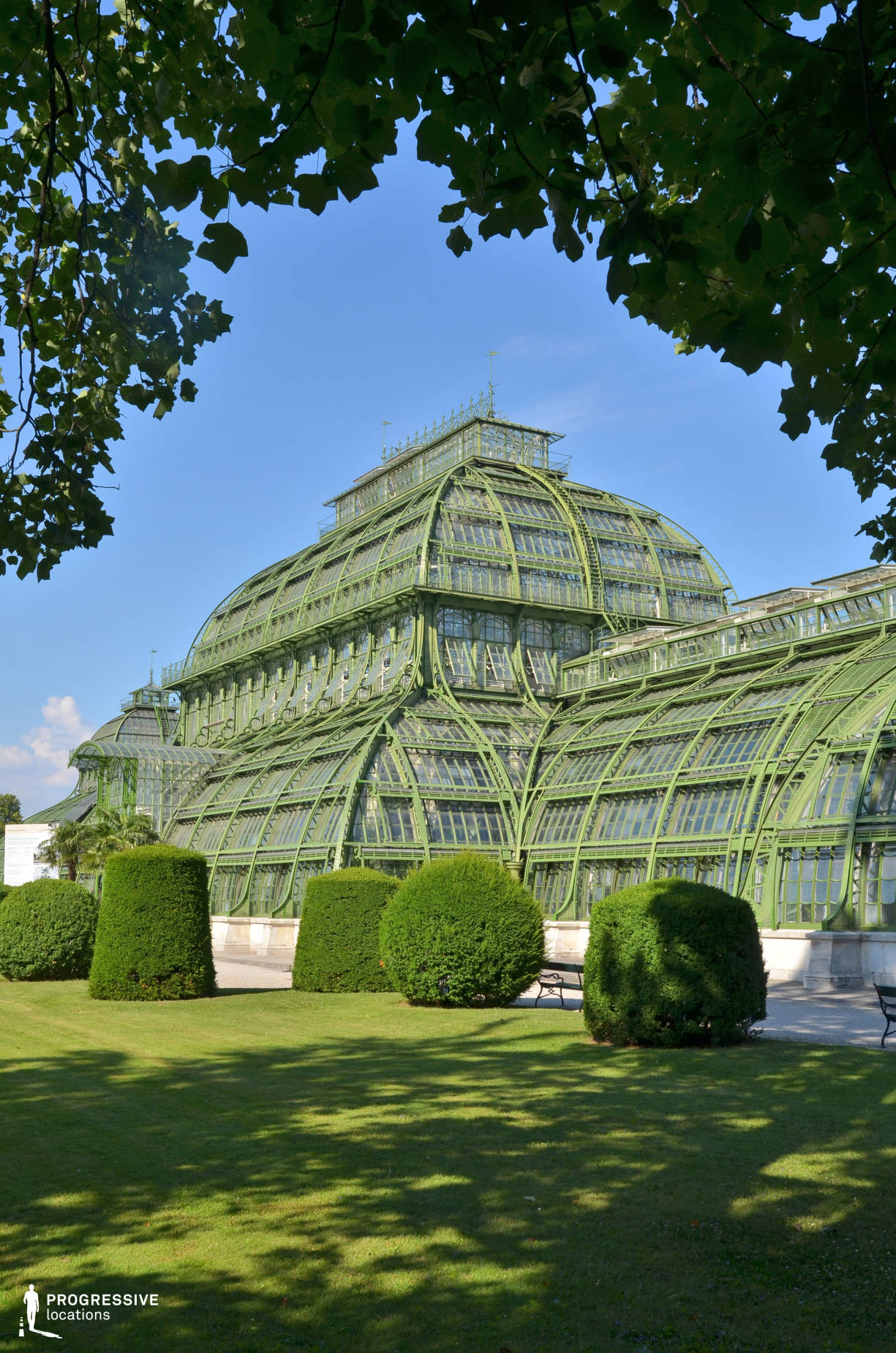 Locations in Austria: Palm House Exterior, Schoenbrunn Palace