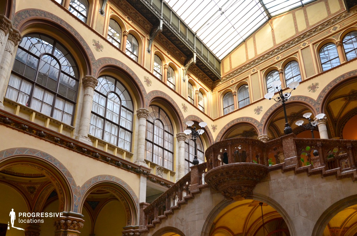 Locations in Austria: Central Court %26 Cafe, Palais Ferstel