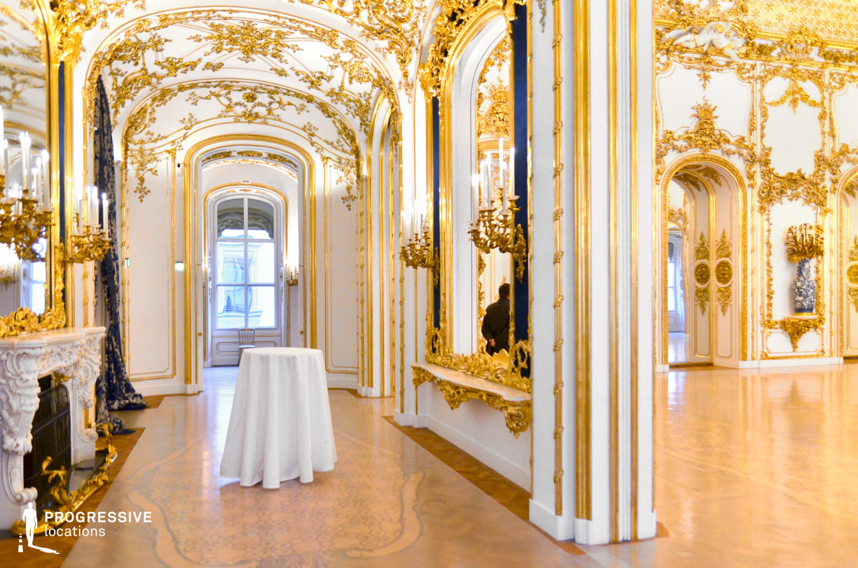 Locations in Austria: Main Hall Entrance, Liechtenstein Palace