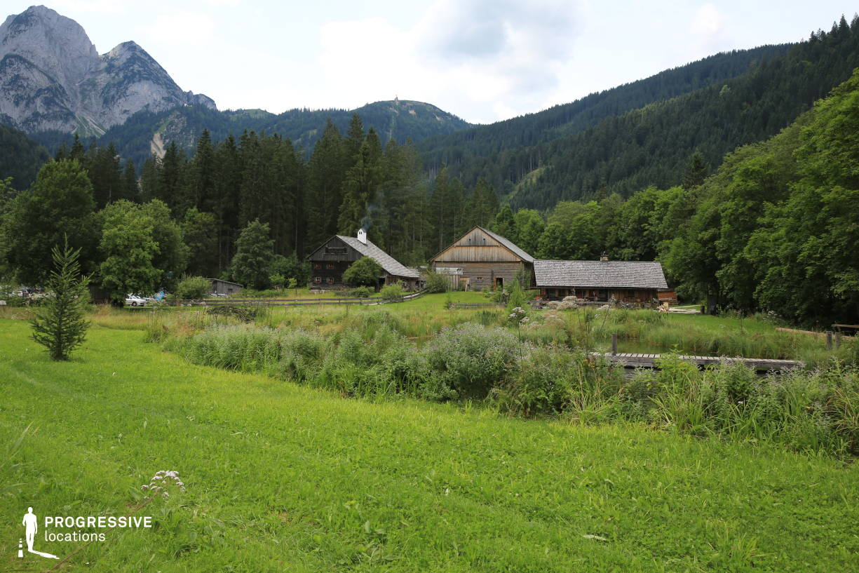 Locations in Austria: Ranch %26 Pond, Gosau