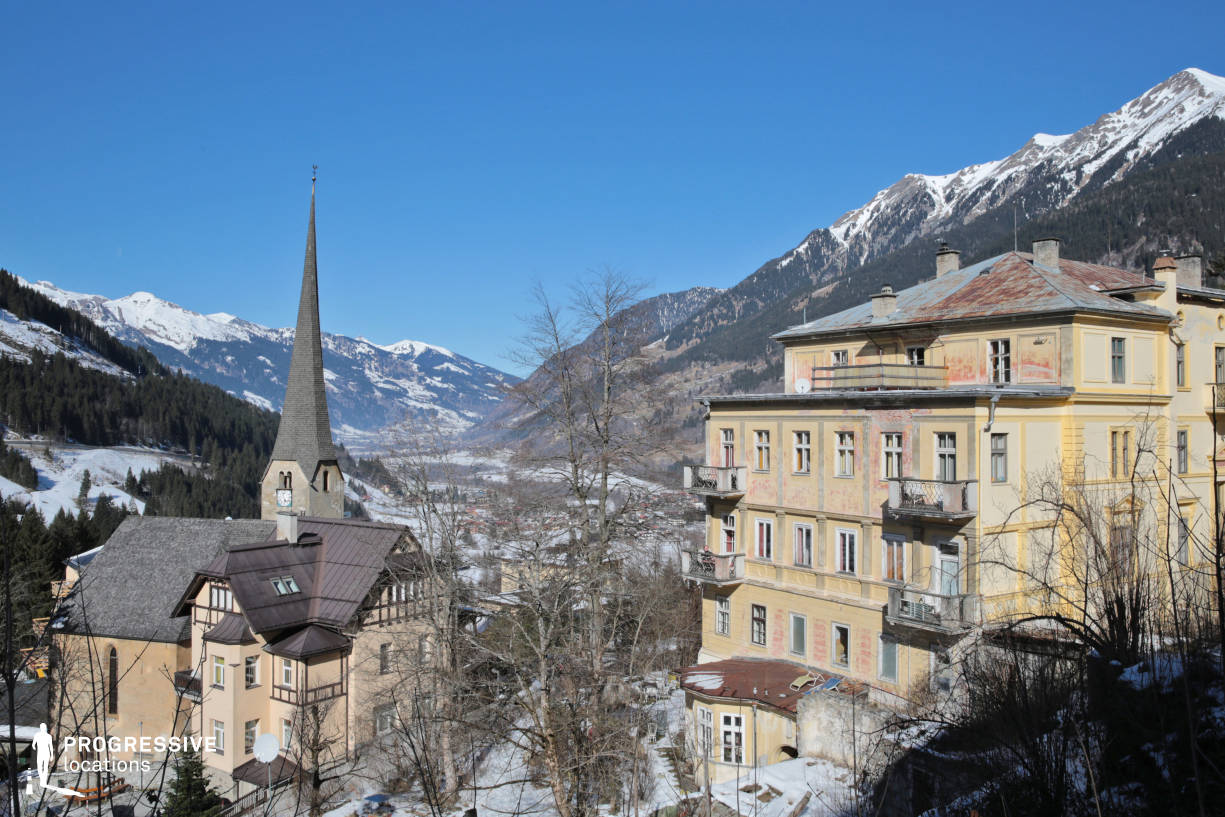 Locations in Austria: Panorama, Bad Gastein