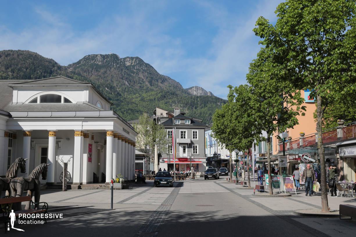 Locations in Austria: Main Square, Bad Ischl