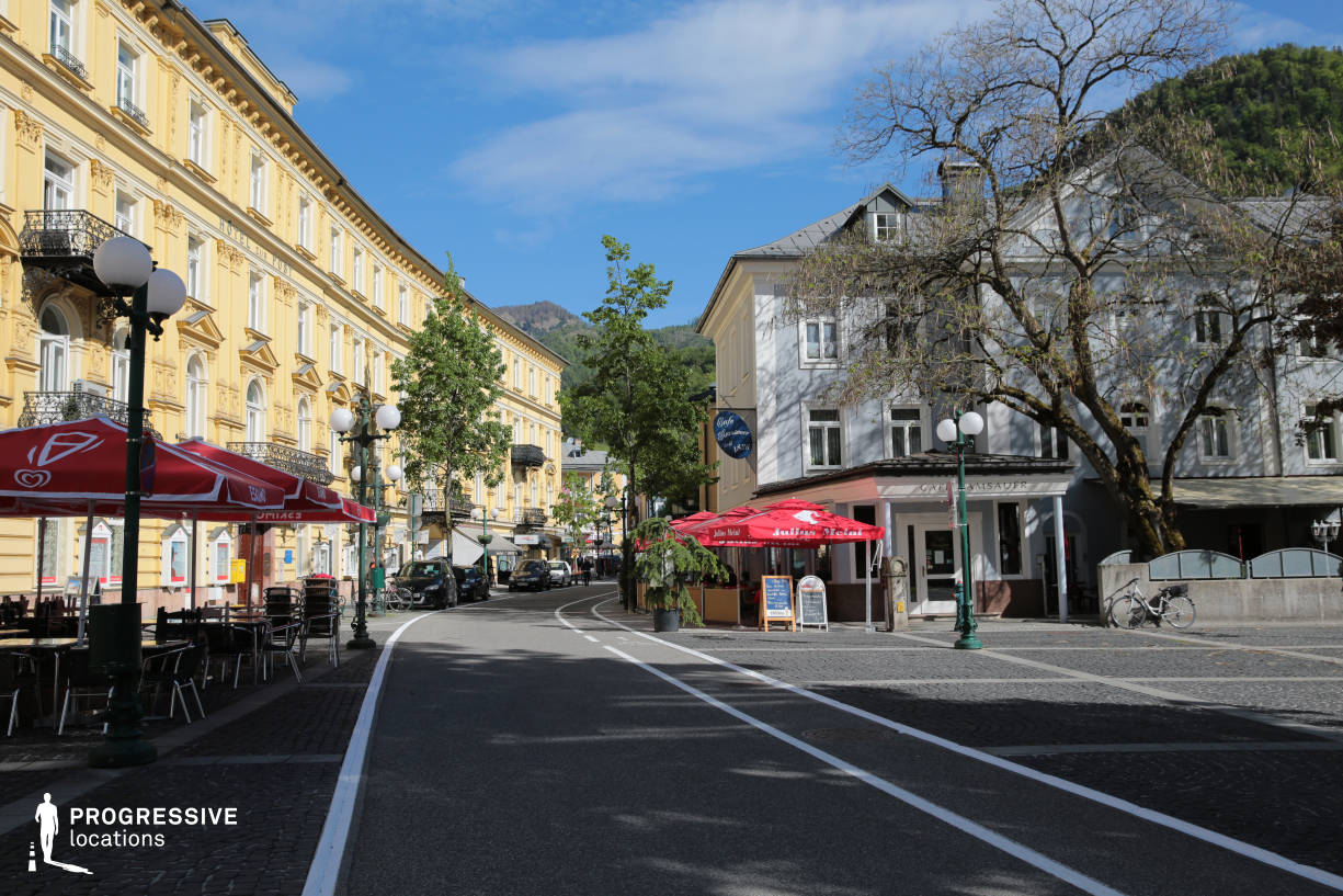Locations in Austria: Old Town Street, Bad Ischl