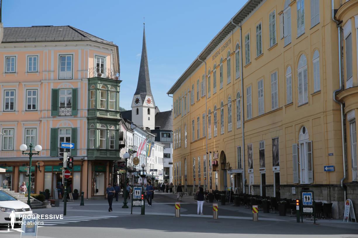 Locations in Austria: Pfarrgasse, Bad Ischl