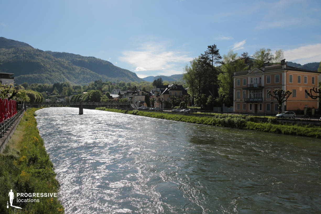 Locations in Austria: Traun River View, Bad Ischl