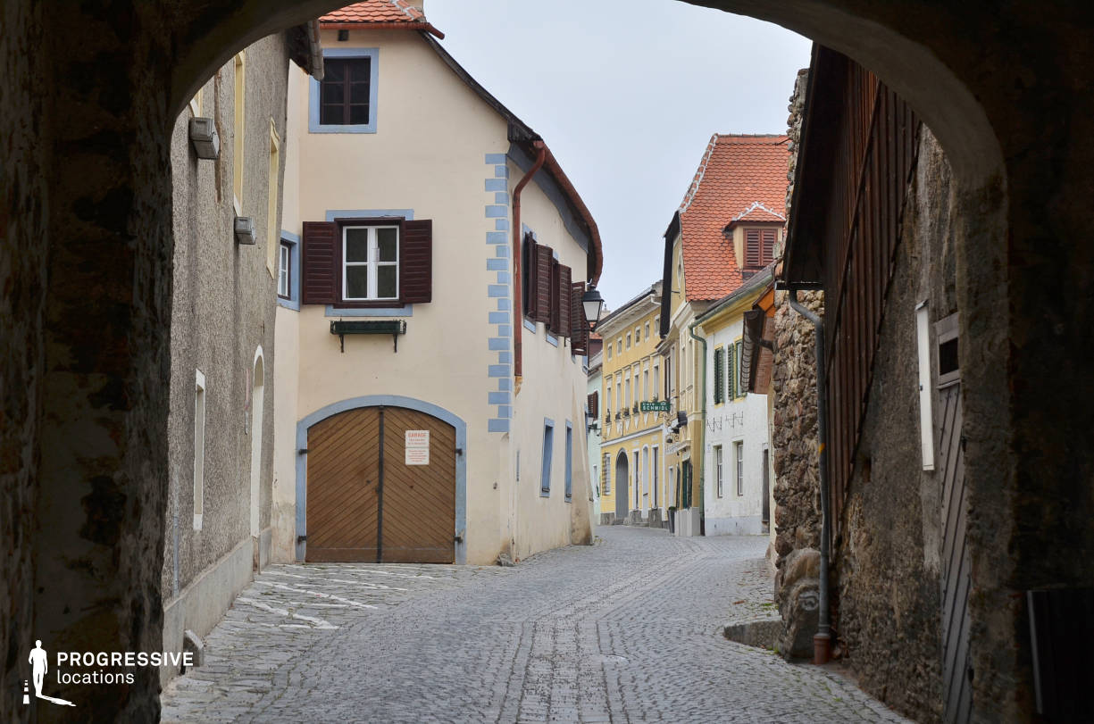 Locations in Austria: Old Town, Duernstein