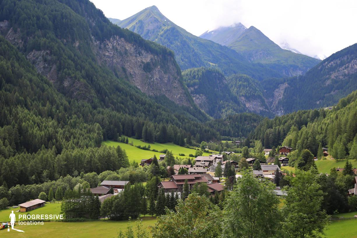 Locations in Austria: Valley %26 Village, Grossglockner