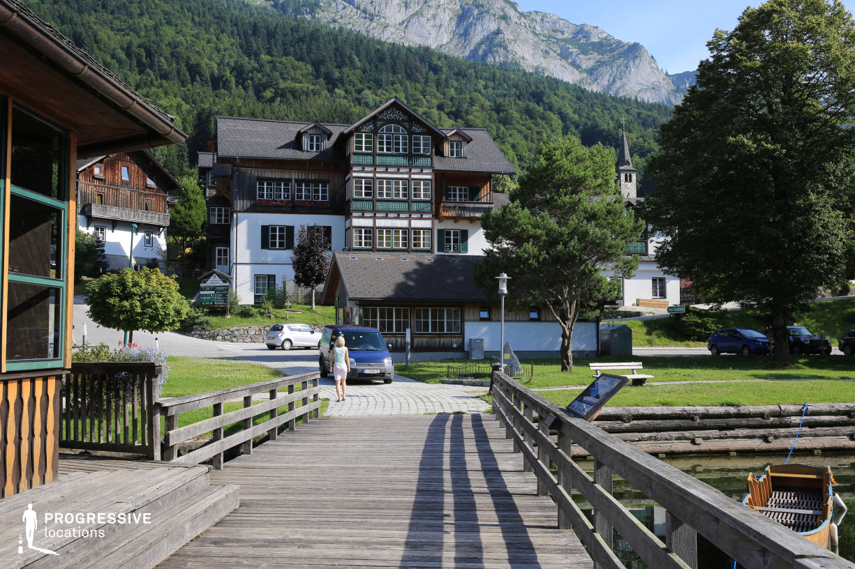 Locations in Austria: Traditional House, Grundlsee
