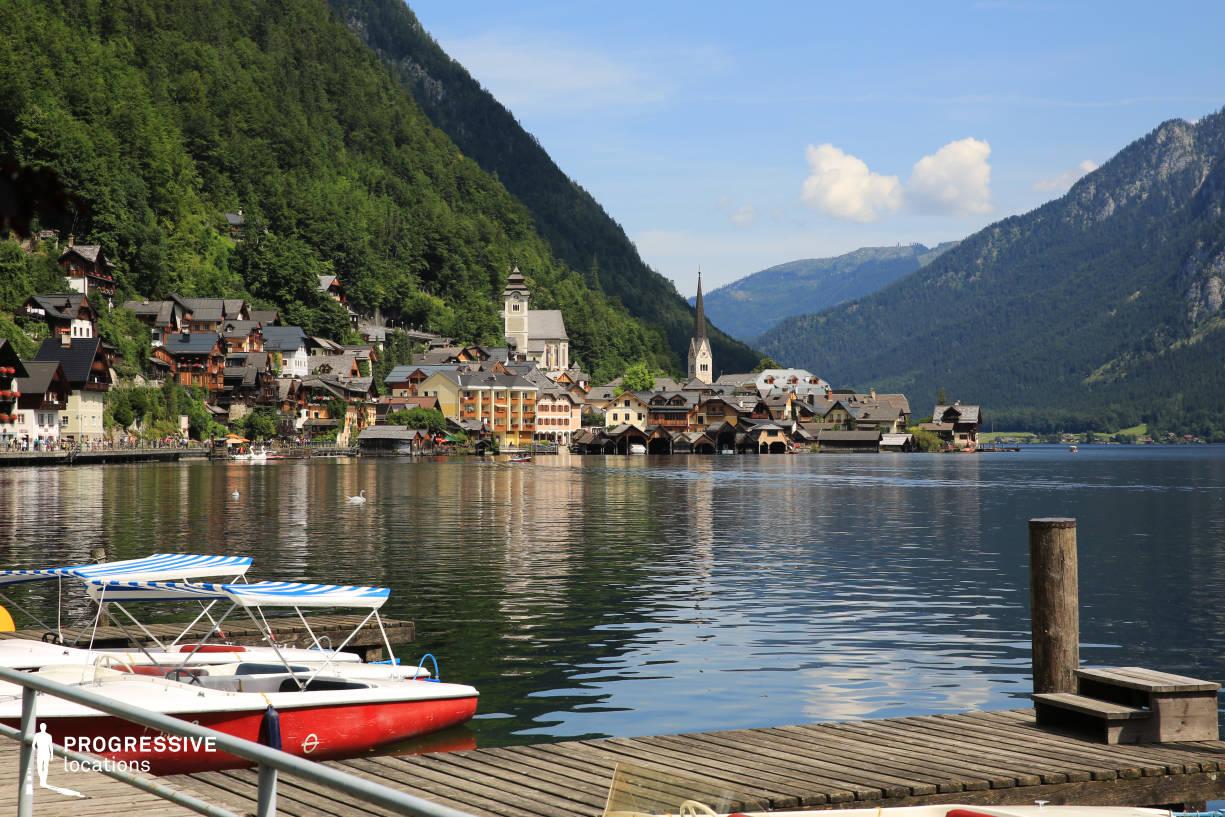 Locations in Austria: City View %26 Pier, Hallstatt