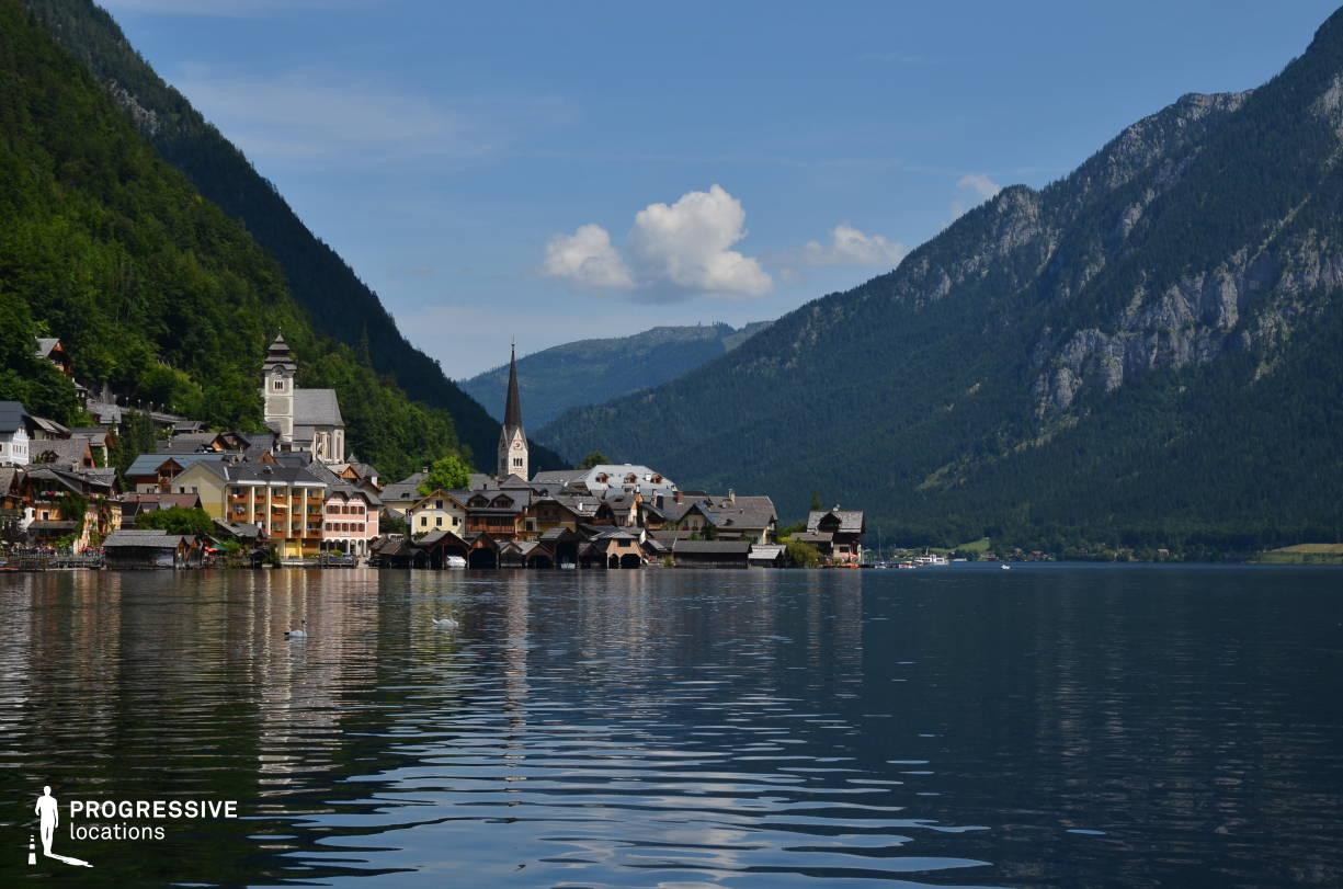 Locations in Austria: Lake Panorama, Hallstatt