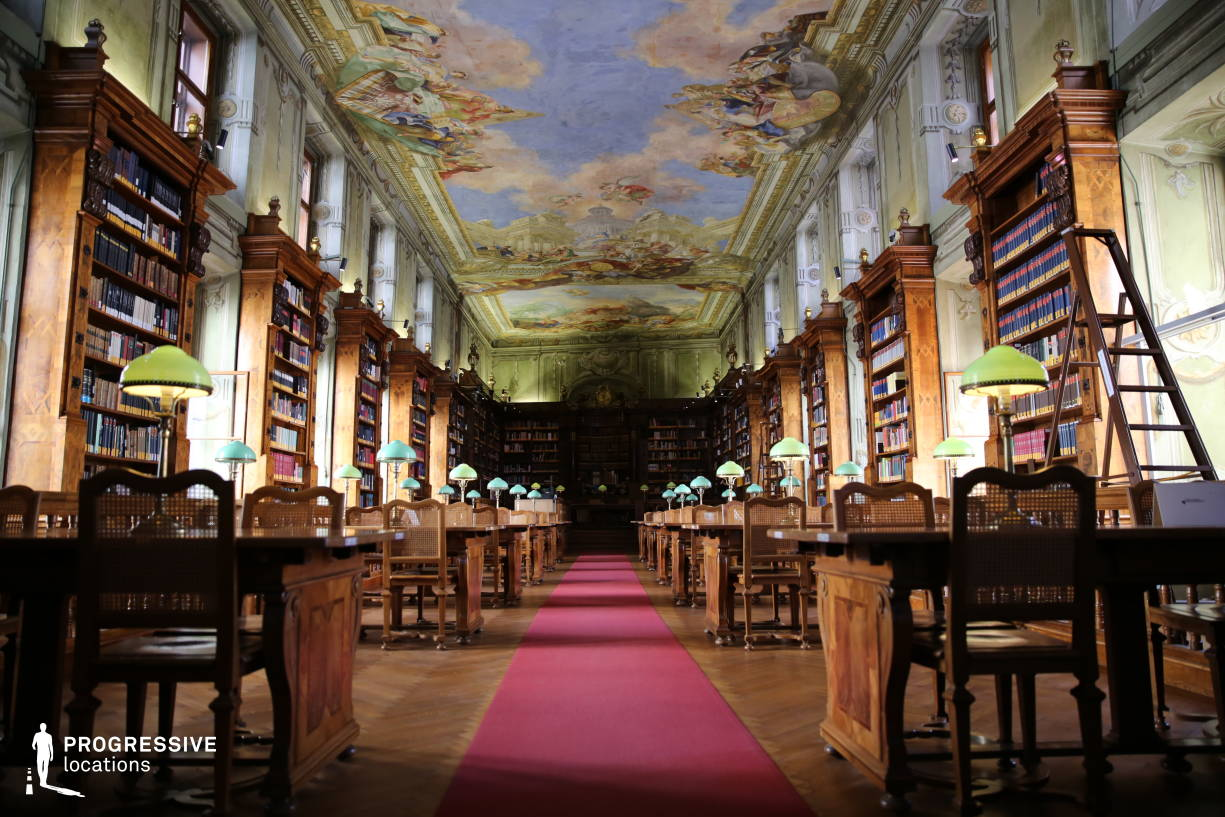 Locations in Austria: Augustinus Reading Room, National Library