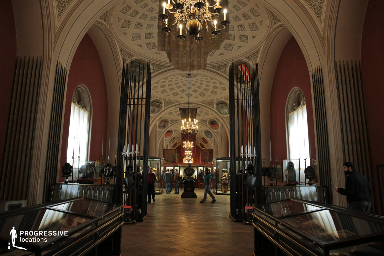 Locations in Austria: Exhibition Hall, Military History Museum