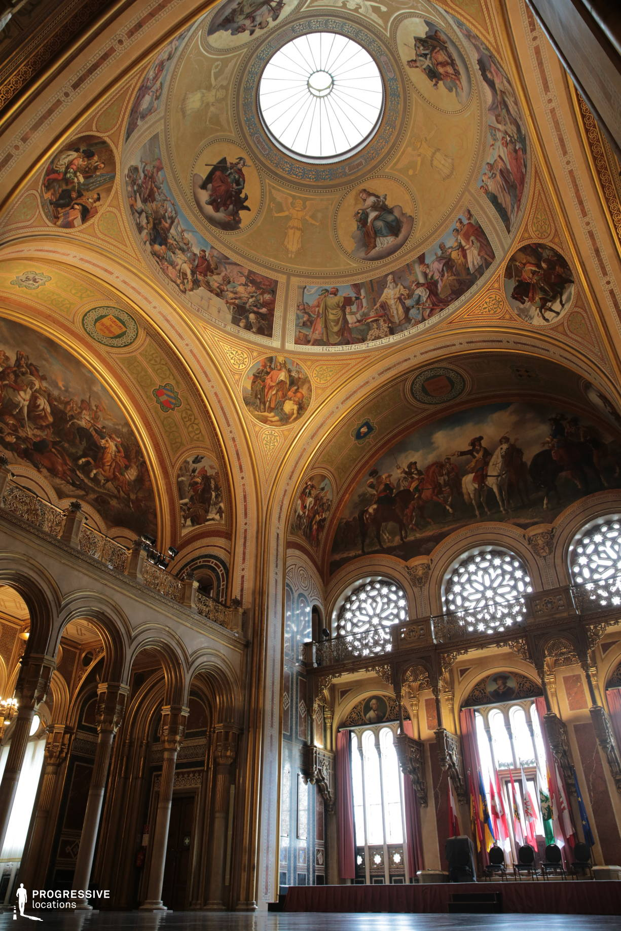 Locations in Austria: Main Hall Dome, Military History Museum