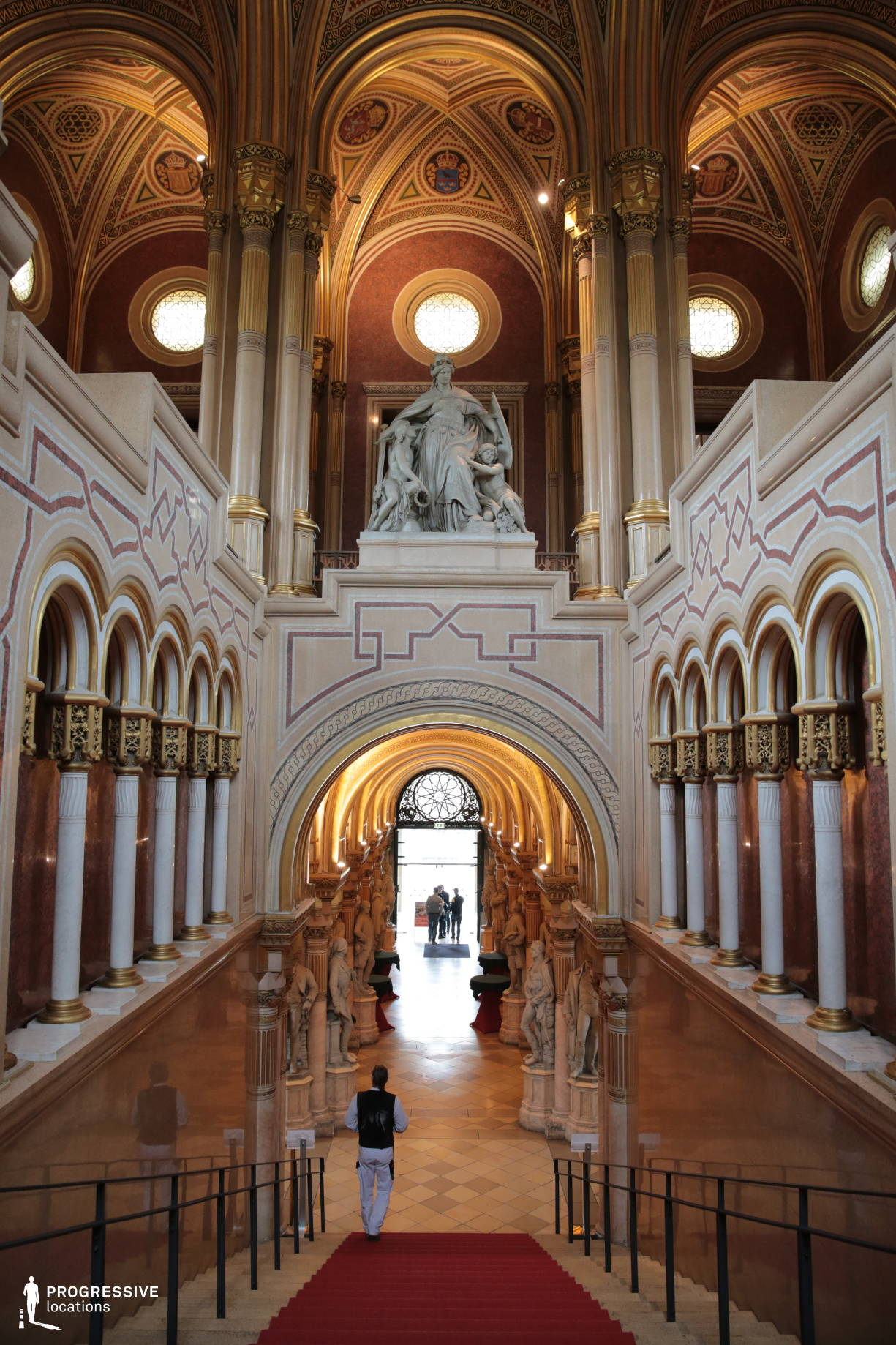 Locations in Austria: Staircase, Military History Museum