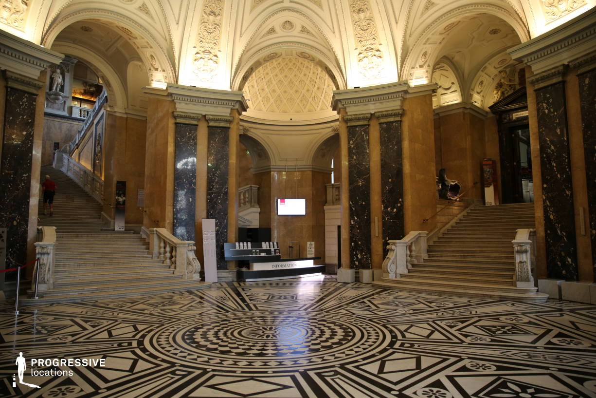 Locations in Austria: Entrance Hall, Natural History Museum